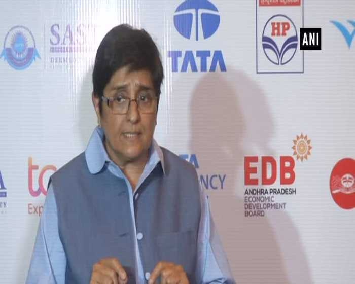 Puducherry CM's letter didn't mention about sitting on dharna Kiran Bedi
