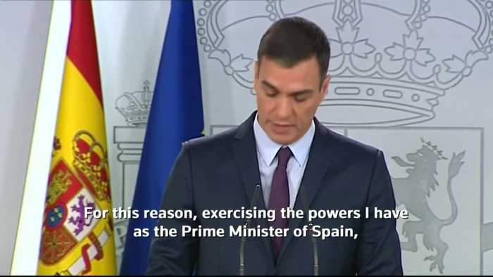 Spanish PM calls snap election for April 28