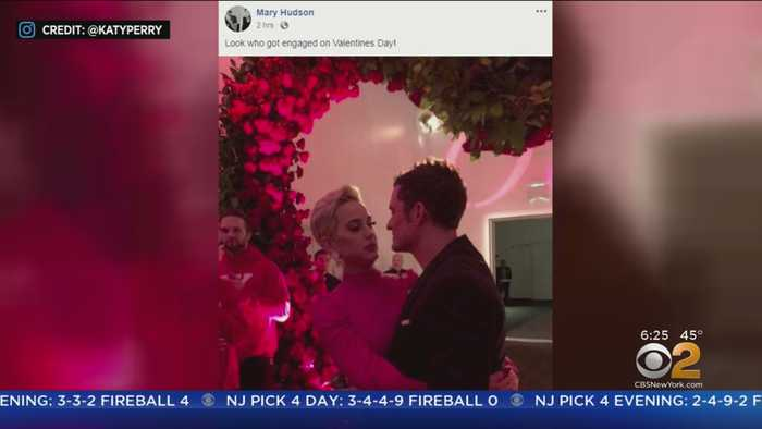 Katy Perry, Orlando Bloom Engaged