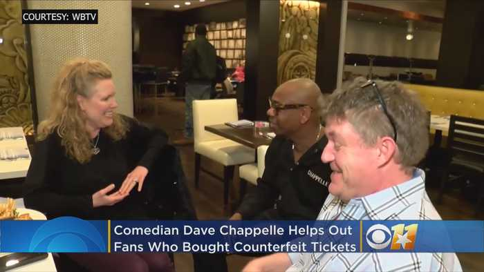 Dave Chappelle Helps Out Fans That Bought Counterfeit Tickets