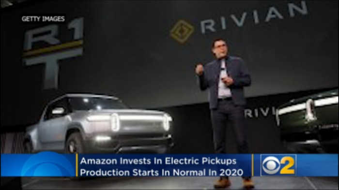 Amazon Invests In Electric Pickups, Production Starts In Normal In 2020
