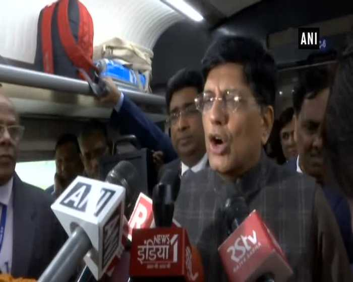 Train 18 is symbol of engineering talent in India Piyush Goyal