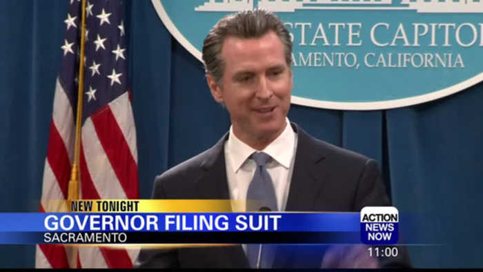 CA Governor getting ready to sue over President's emergency declaration