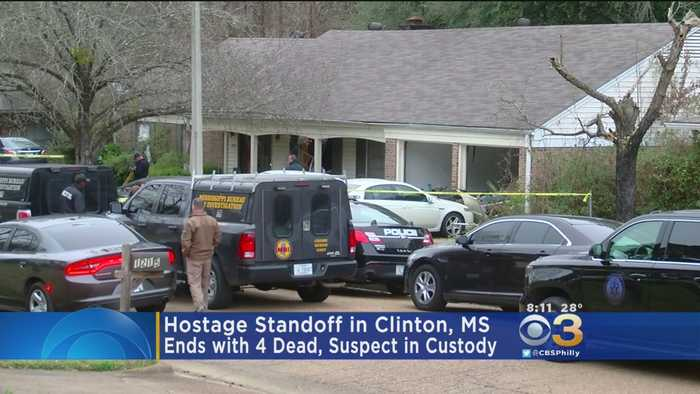 Mississippi Hostage Standoff Ends With 4 Dead