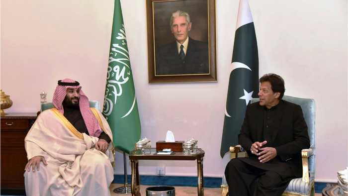 MBS Opens Asia Trip With $20 Billion Pakistan Pledge