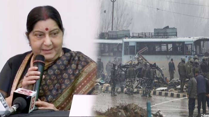 Sushma reveals why she didn't cancel her Morocco trip after Pulwama attack | Oneindia News