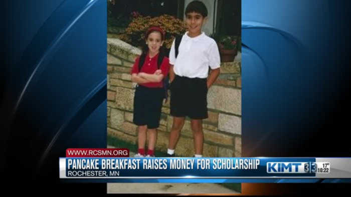 Pancake breakfast helps legacy of two Rochester students live on