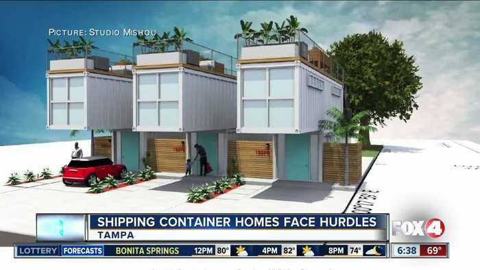Shipping container homes proposed in Florida, facing hurdles