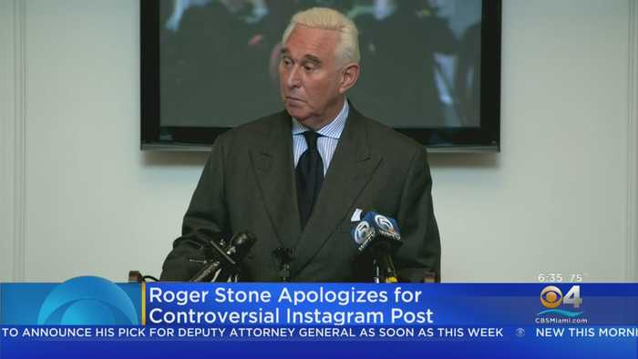 Roger Stone Apologized For Controversial Instagram Picture