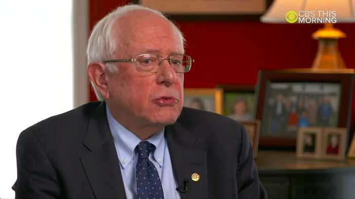 Bernie on age, socialism and 'demagogue' Trump