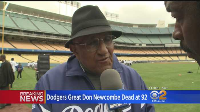 Dodgers Mourn Passing Of All-Time Pitching Great Don Newcombe