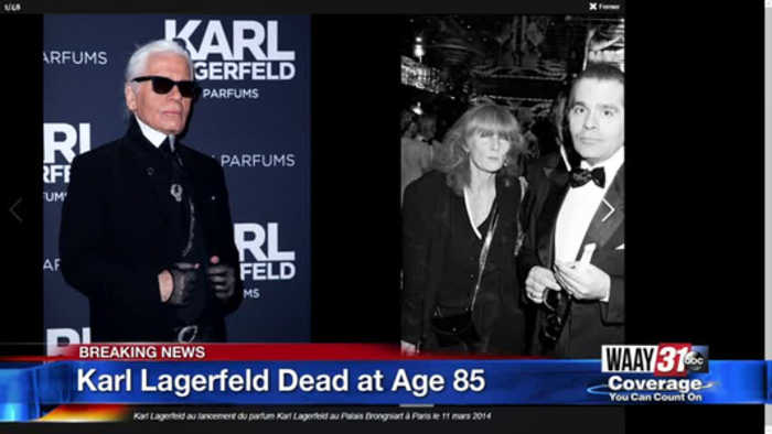 Karl Lagerfeld Dead at Age 85