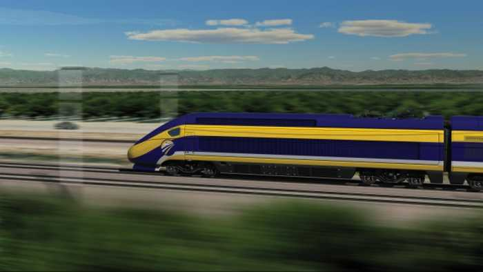 Govt. Canceling Funds for California's Bullet Train Project