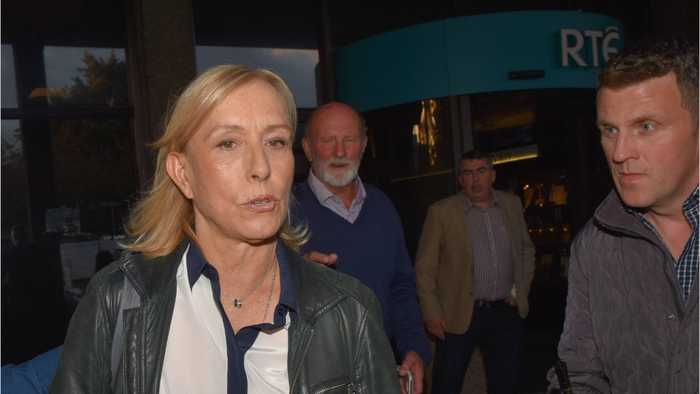 Martina Navratilova Dropped From LGBT Group Over 'Trans' Comment