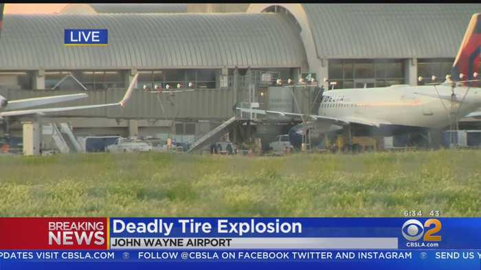 Worker Killed By Exploding Tire At John Wayne Airport