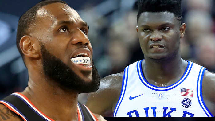 Zion Williamson REACTS To LeBron Comparison As Duke Charges Super Bowl Ticket Prices For UNC Game!