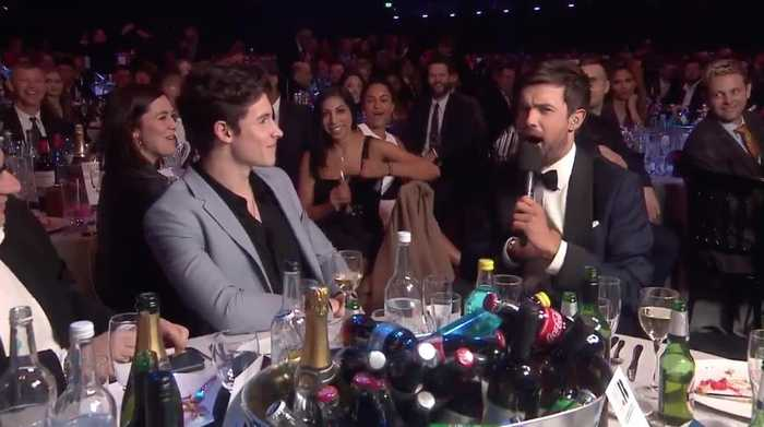 Jack Whitehall Congratulates Shawn Mendes On His Underwear Campaign