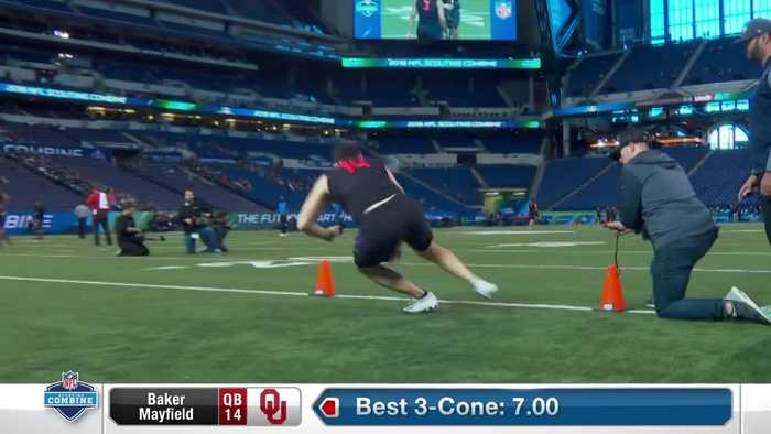 Baker Mayfield's full 2018 NFL Scouting Combine workout