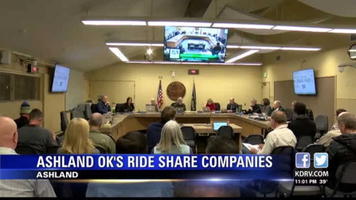 Ashland City Council Approves Uber and Lyft