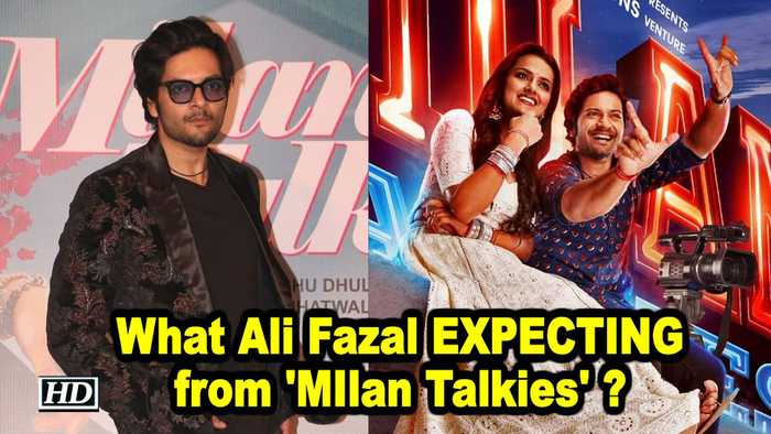 What Ali Fazal EXPECTING from 'MIlan Talkies' ?