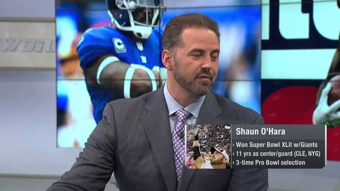 NFL Network's Shaun O'Hara: New York Giants 'can't afford' to let safety Landon Collins hit free agency