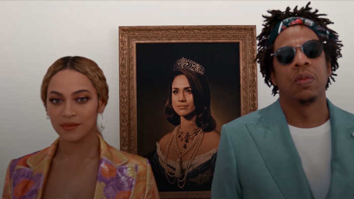 Beyonce and Jay-Z give ode to Meghan during Brit Awards speech