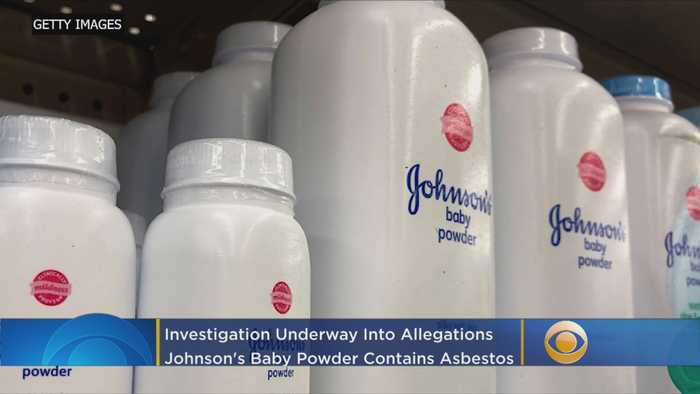 Johnson & Johnson Says U.S. Investigating Johnson's Baby Powder