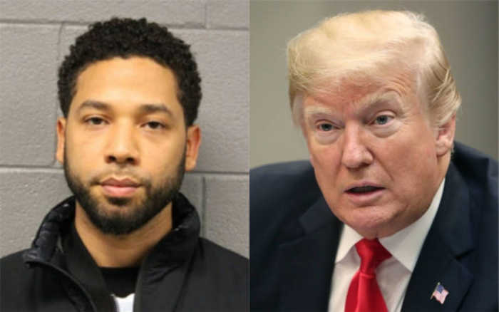Trump Blasts Jussie Smollett for Staging Attack on Himself