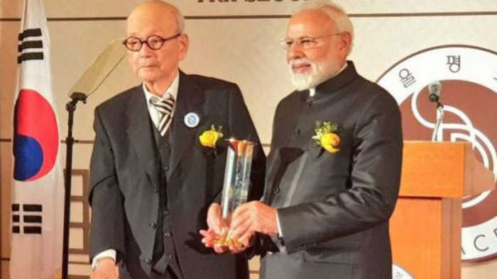 PM Modi says big thing about India, after getting the Seoul Peace Prize | Oneindia News