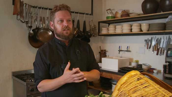 South African chef reaches gatronomic heaven as tables turn
