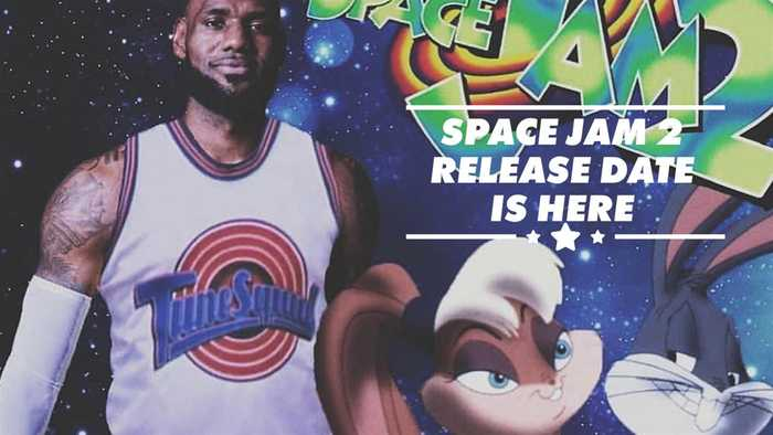 This is when the world will get Space Jam 2