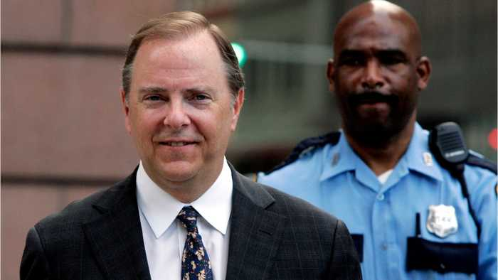 Enron CEO Convicted To 24 Years In Prison In 2006 Once Again A Free Man