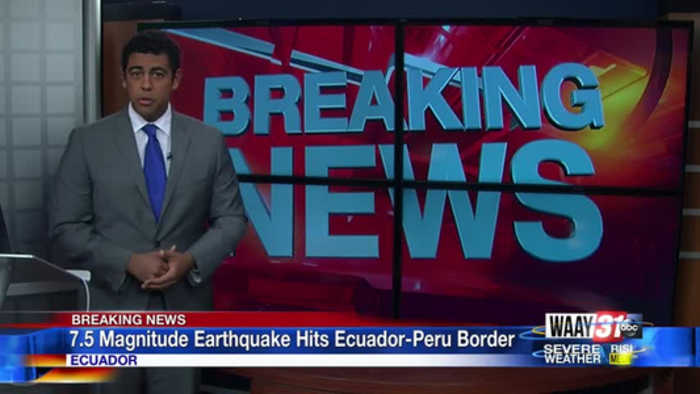 7.5 Magnitude Earthquake Hits Ecuador-Peru Border