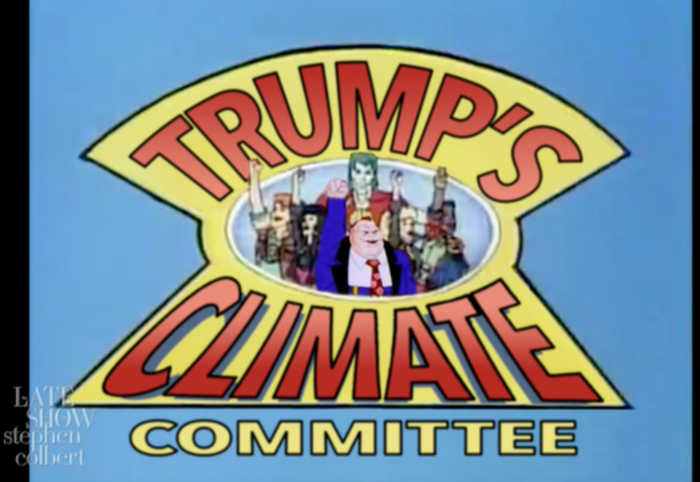 Trump's Climate Committee, Assemble!