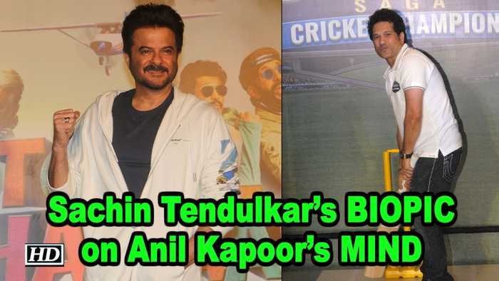 Sachin Tendulkar's BIOPIC on Anil Kapoor's MIND