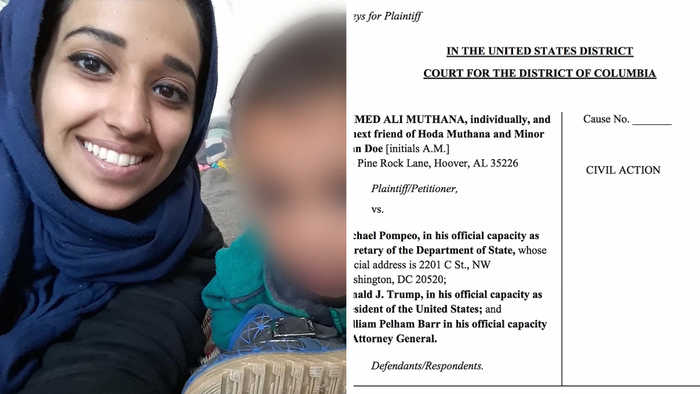 Former ISIS Bride Hoda Muthana's Family Sues Trump Admin to Let Her Back into U.S.