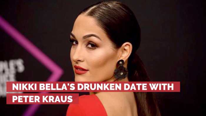 Nikki Bella Admits She Got Drunk Before Her Date