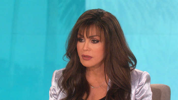 The Talk - Marie Osmond Relates to Miley Cyrus Over Malibu Fire Loss