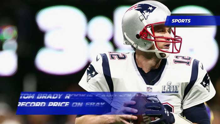 Tom Brady Rookie Card Fetches More Than 400000 At Auction Setting