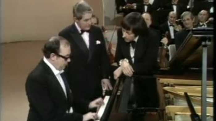 Andre Previn conducts on Morecambe and Wise