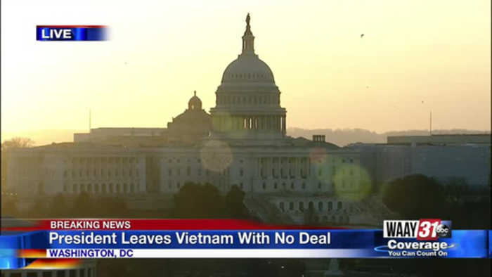 President leaves Vietnam with no deal