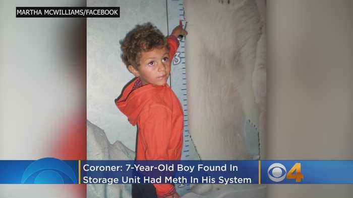 Coroner: 7-Year-Old Boy Found In Storage Unit Had Meth In His System