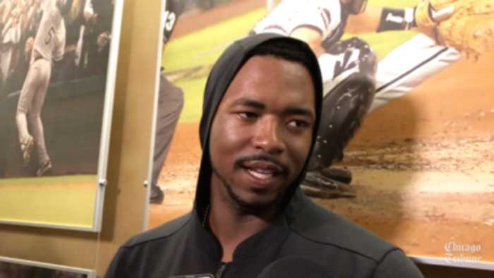 White Sox prospect Eloy Jimenez on wanting to play against the Cubs