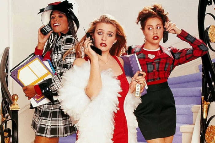 Clueless movie (1995) - Alicia Silverstone, Stacey Dash, Brittany Murphy