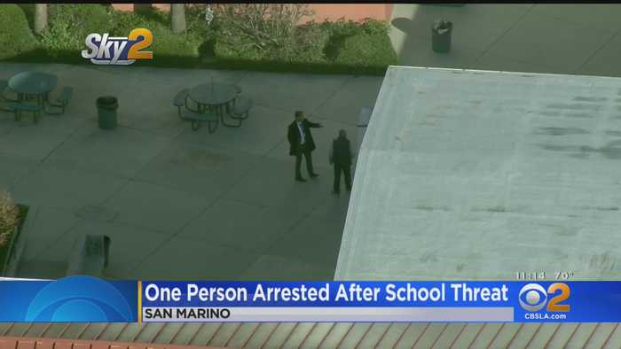 Suspect Arrested After Threat Cancels Classes At San Marino High School