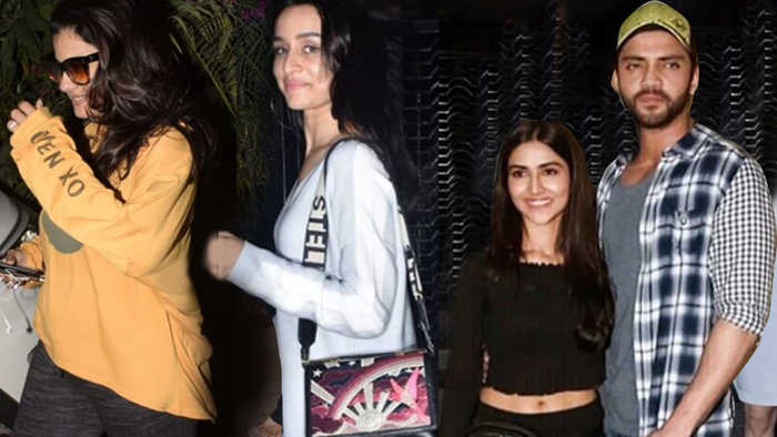 Kajol Avoids Media, Shraddha Kapoor, Siddhant Chaturvedi & WWE Superstars Watch Gully Boy