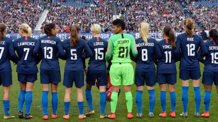 All 28 Women's National Team Players Sue U.S. Soccer for Equal Pay