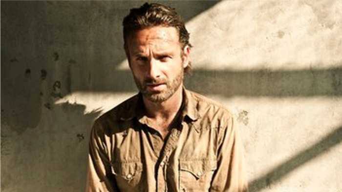 'The Walking Dead's Andrew Lincoln Photographed On Set