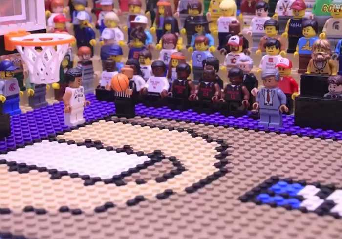 Idaho Animator Gives Jordan Poole's 2018 Buzzer-Beater the Lego Treatment