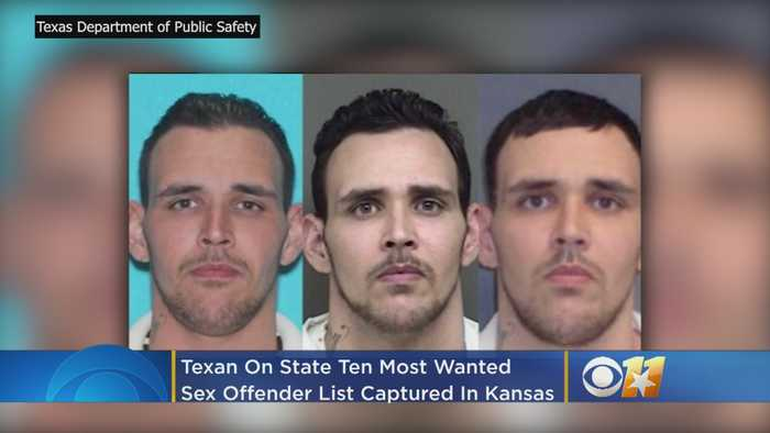 Texan On State 10 Most Wanted Sex Offender List Captured In Kansas